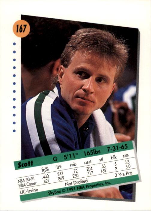 thumbnail 329 - 1991-92 SkyBox Basketball Card Pick 1-250