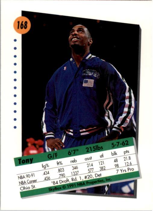 thumbnail 331 - 1991-92 SkyBox Basketball Card Pick 1-250