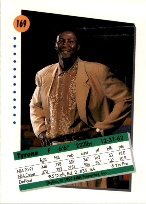 thumbnail 333 - 1991-92 SkyBox Basketball Card Pick 1-250