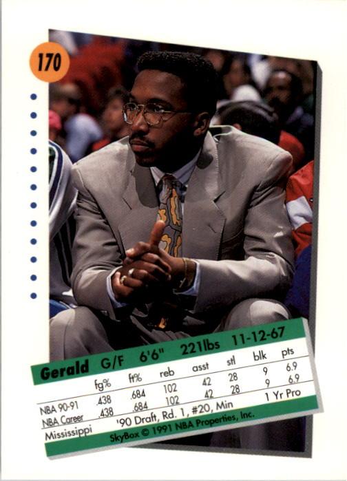 thumbnail 335 - 1991-92 SkyBox Basketball Card Pick 1-250