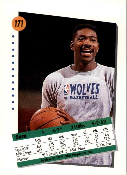 thumbnail 337 - 1991-92 SkyBox Basketball Card Pick 1-250