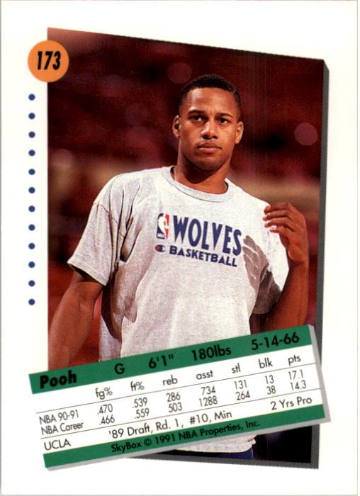 thumbnail 341 - 1991-92 SkyBox Basketball Card Pick 1-250