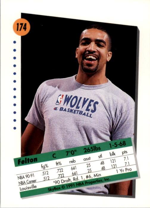 thumbnail 343 - 1991-92 SkyBox Basketball Card Pick 1-250