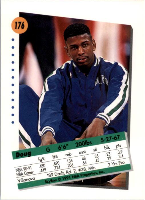 thumbnail 347 - 1991-92 SkyBox Basketball Card Pick 1-250
