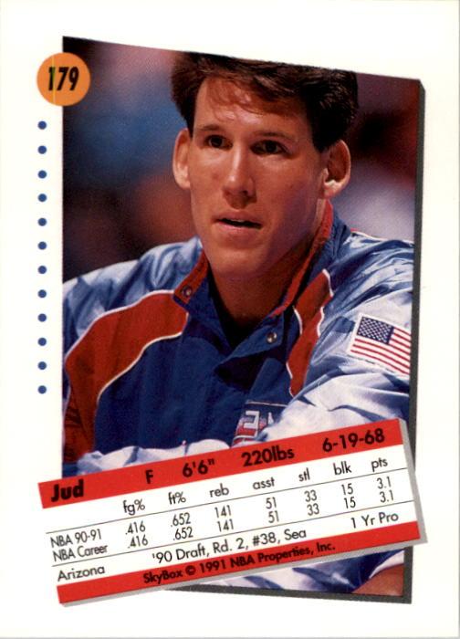 thumbnail 353 - 1991-92 SkyBox Basketball Card Pick 1-250