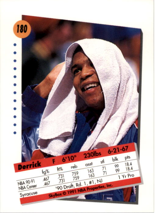 thumbnail 355 - 1991-92 SkyBox Basketball Card Pick 1-250