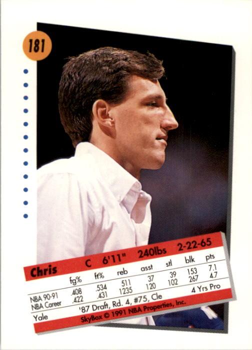 thumbnail 357 - 1991-92 SkyBox Basketball Card Pick 1-250