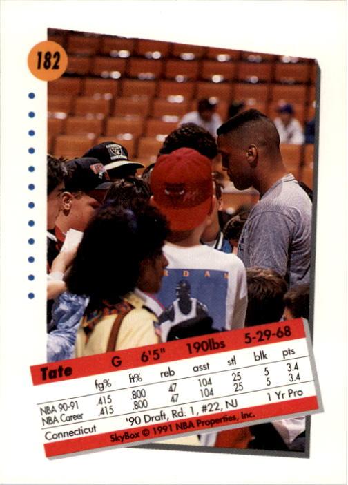 thumbnail 359 - 1991-92 SkyBox Basketball Card Pick 1-250