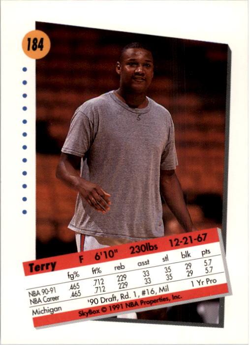 thumbnail 363 - 1991-92 SkyBox Basketball Card Pick 1-250