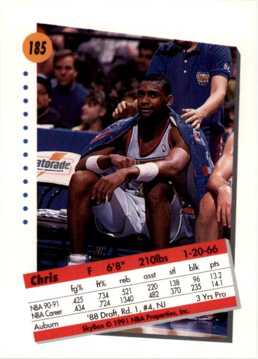 thumbnail 365 - 1991-92 SkyBox Basketball Card Pick 1-250