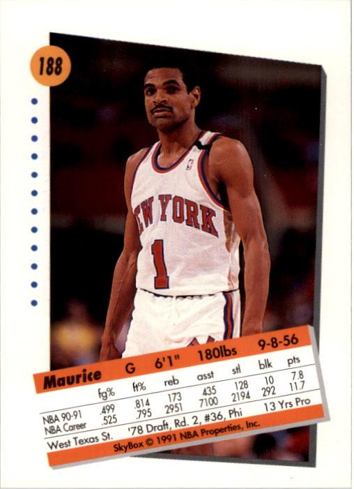 thumbnail 371 - 1991-92 SkyBox Basketball Card Pick 1-250