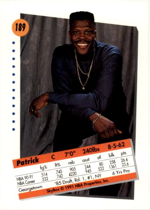 thumbnail 373 - 1991-92 SkyBox Basketball Card Pick 1-250