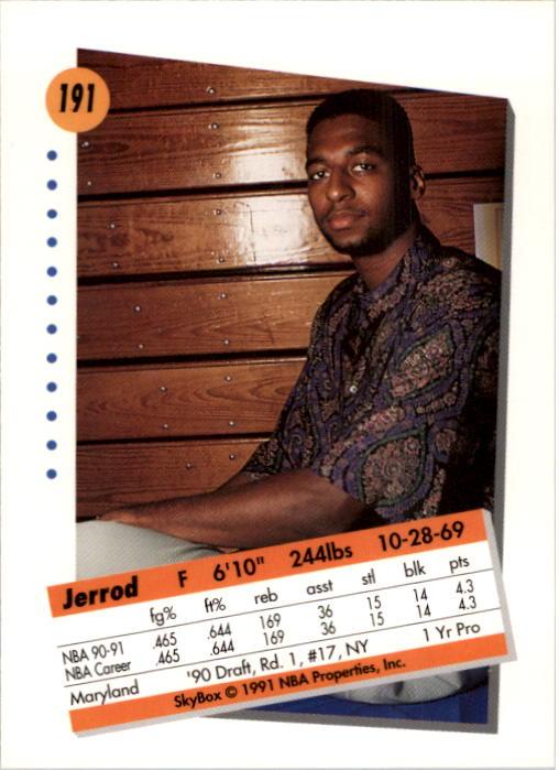 thumbnail 377 - 1991-92 SkyBox Basketball Card Pick 1-250