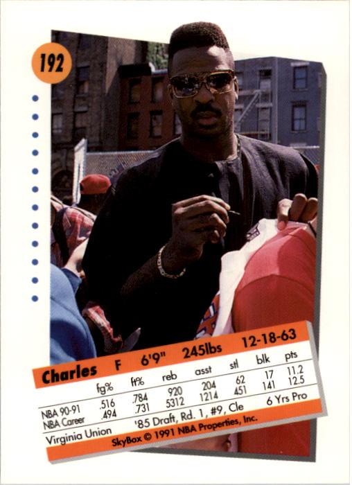 thumbnail 379 - 1991-92 SkyBox Basketball Card Pick 1-250