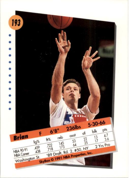 thumbnail 381 - 1991-92 SkyBox Basketball Card Pick 1-250