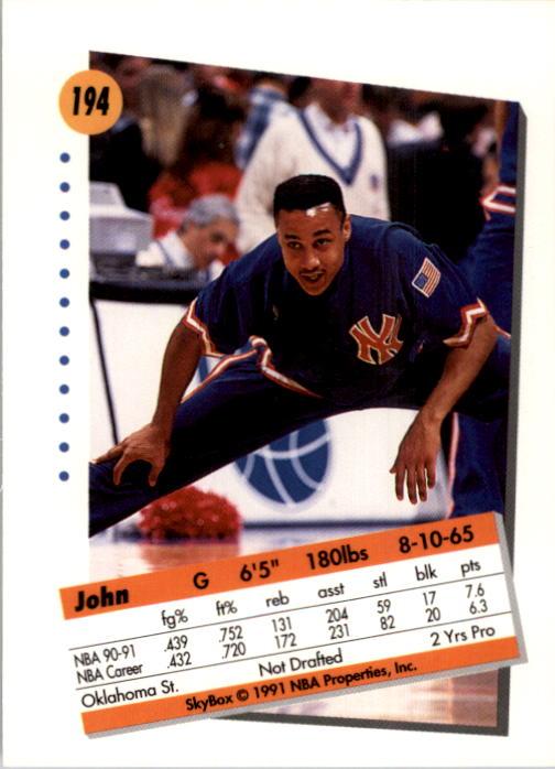 thumbnail 383 - 1991-92 SkyBox Basketball Card Pick 1-250