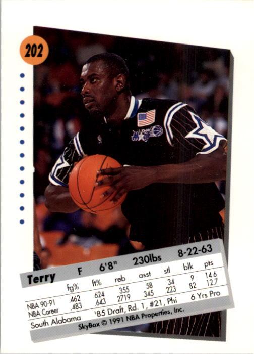 thumbnail 399 - 1991-92 SkyBox Basketball Card Pick 1-250