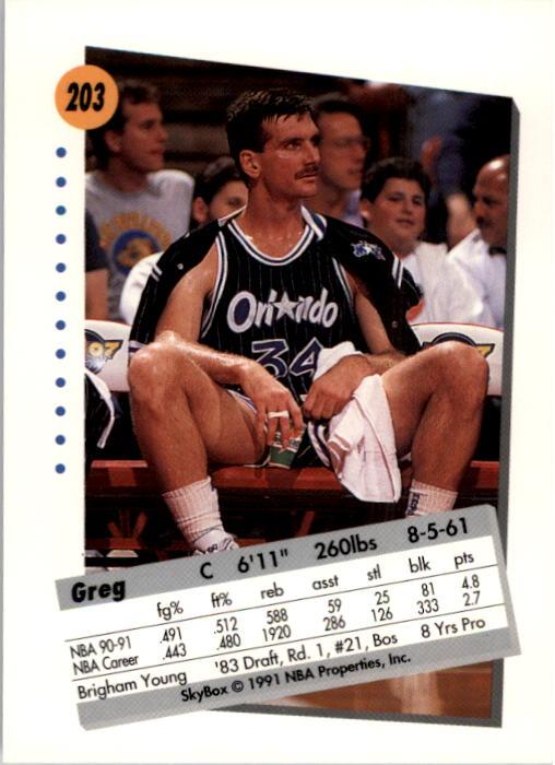 thumbnail 401 - 1991-92 SkyBox Basketball Card Pick 1-250