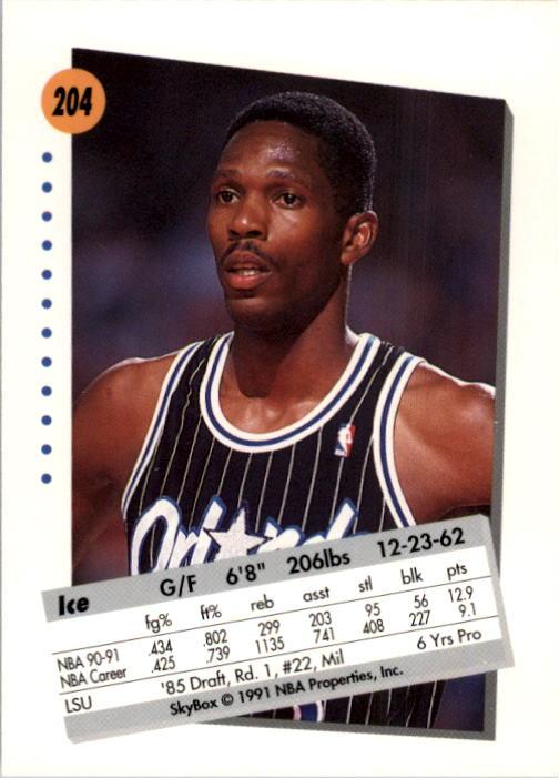 thumbnail 403 - 1991-92 SkyBox Basketball Card Pick 1-250