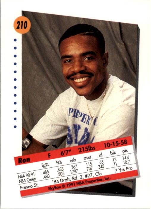 thumbnail 415 - 1991-92 SkyBox Basketball Card Pick 1-250