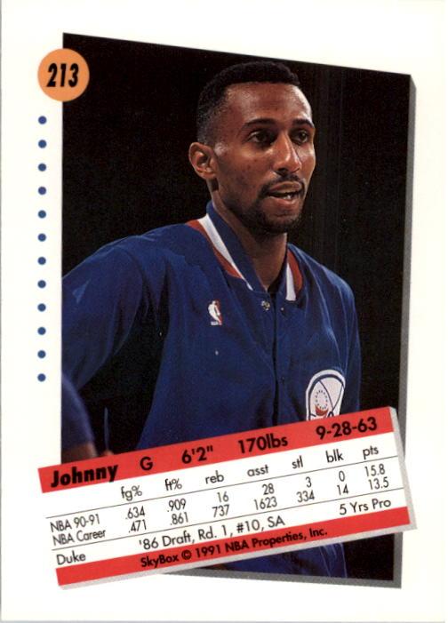 thumbnail 421 - 1991-92 SkyBox Basketball Card Pick 1-250