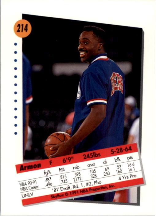 thumbnail 423 - 1991-92 SkyBox Basketball Card Pick 1-250