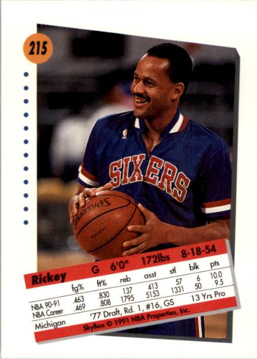 thumbnail 425 - 1991-92 SkyBox Basketball Card Pick 1-250