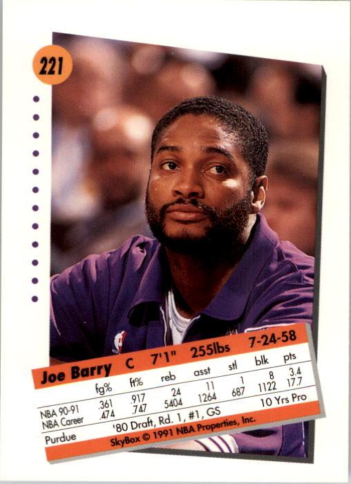thumbnail 437 - 1991-92 SkyBox Basketball Card Pick 1-250
