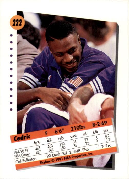 thumbnail 439 - 1991-92 SkyBox Basketball Card Pick 1-250