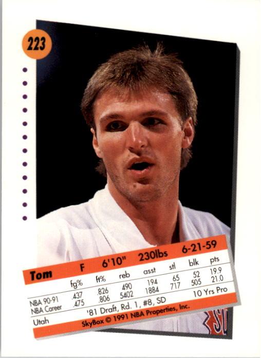 thumbnail 441 - 1991-92 SkyBox Basketball Card Pick 1-250