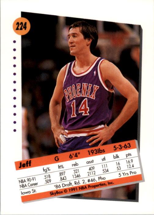 thumbnail 443 - 1991-92 SkyBox Basketball Card Pick 1-250