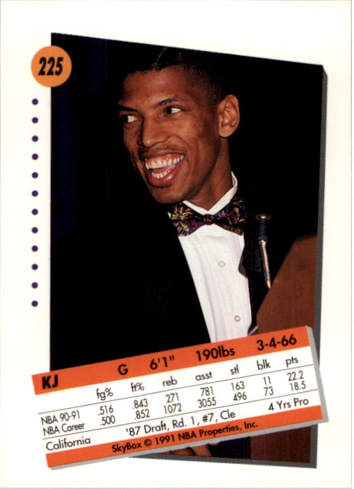 thumbnail 445 - 1991-92 SkyBox Basketball Card Pick 1-250
