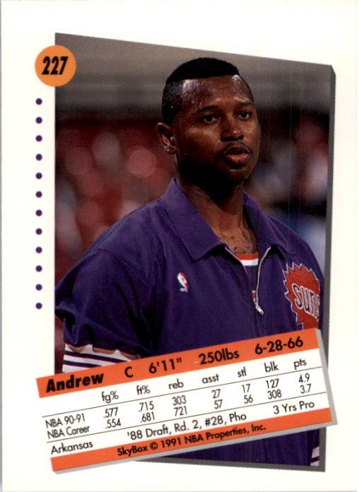 thumbnail 449 - 1991-92 SkyBox Basketball Card Pick 1-250
