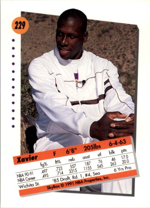 thumbnail 453 - 1991-92 SkyBox Basketball Card Pick 1-250