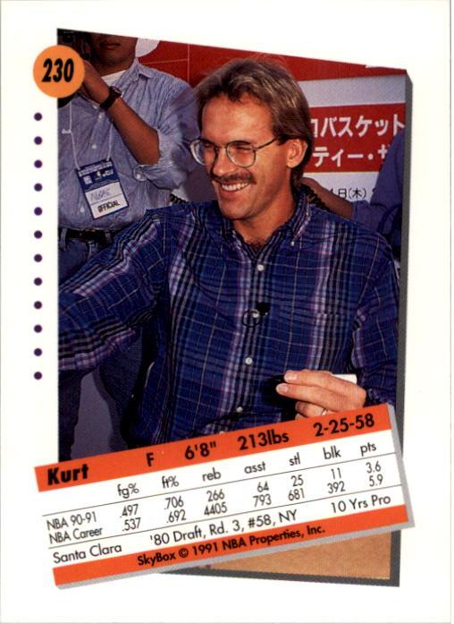 thumbnail 455 - 1991-92 SkyBox Basketball Card Pick 1-250
