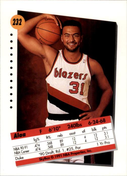 thumbnail 459 - 1991-92 SkyBox Basketball Card Pick 1-250