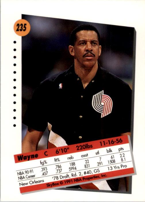 thumbnail 465 - 1991-92 SkyBox Basketball Card Pick 1-250