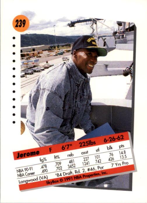 thumbnail 473 - 1991-92 SkyBox Basketball Card Pick 1-250
