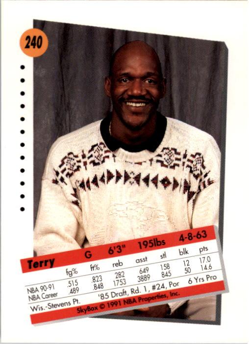 thumbnail 475 - 1991-92 SkyBox Basketball Card Pick 1-250