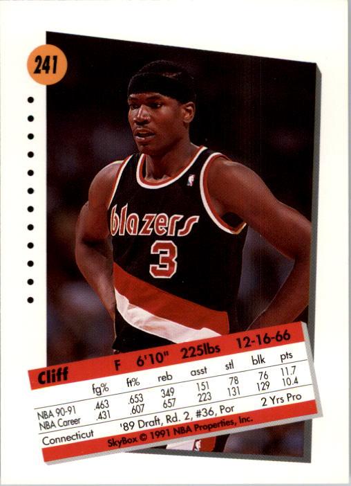 thumbnail 477 - 1991-92 SkyBox Basketball Card Pick 1-250