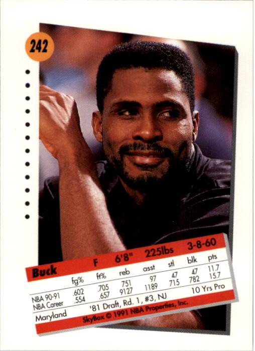 thumbnail 479 - 1991-92 SkyBox Basketball Card Pick 1-250