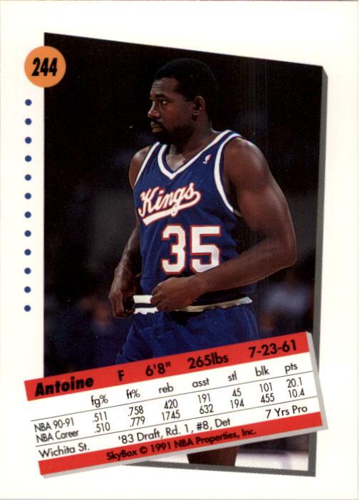 thumbnail 483 - 1991-92 SkyBox Basketball Card Pick 1-250