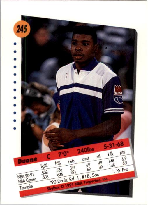 thumbnail 485 - 1991-92 SkyBox Basketball Card Pick 1-250