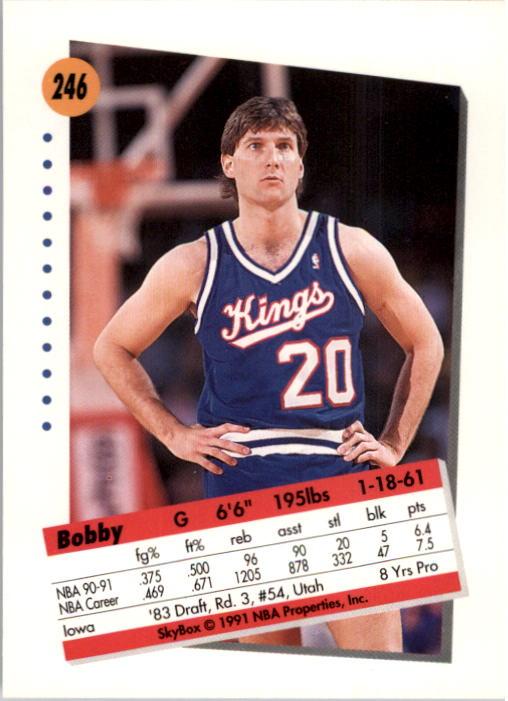 thumbnail 487 - 1991-92 SkyBox Basketball Card Pick 1-250