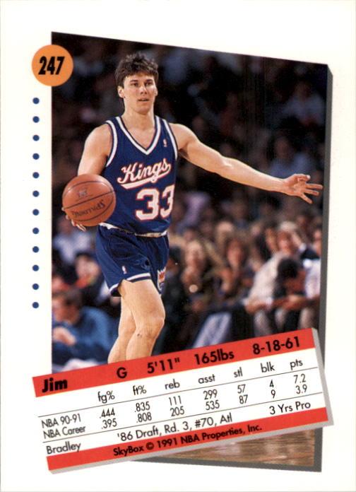 thumbnail 489 - 1991-92 SkyBox Basketball Card Pick 1-250