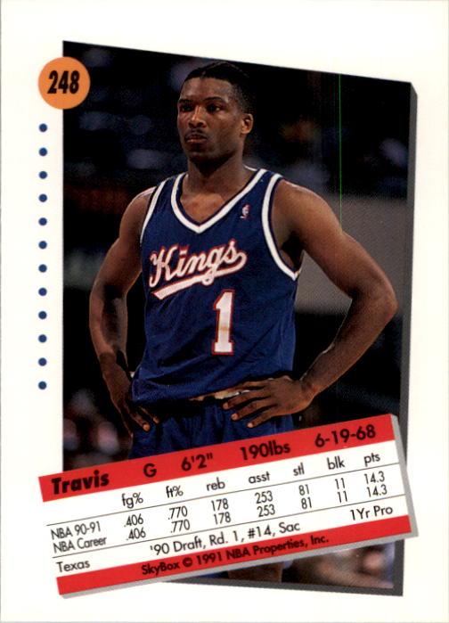 thumbnail 491 - 1991-92 SkyBox Basketball Card Pick 1-250
