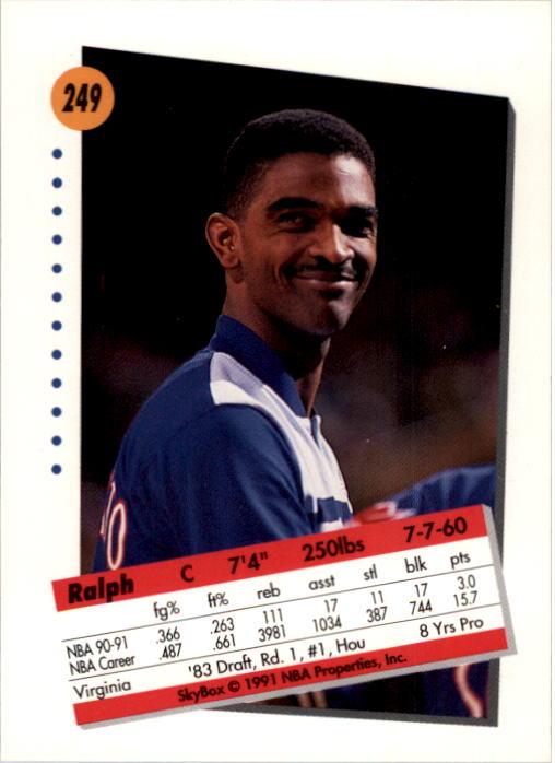 thumbnail 493 - 1991-92 SkyBox Basketball Card Pick 1-250
