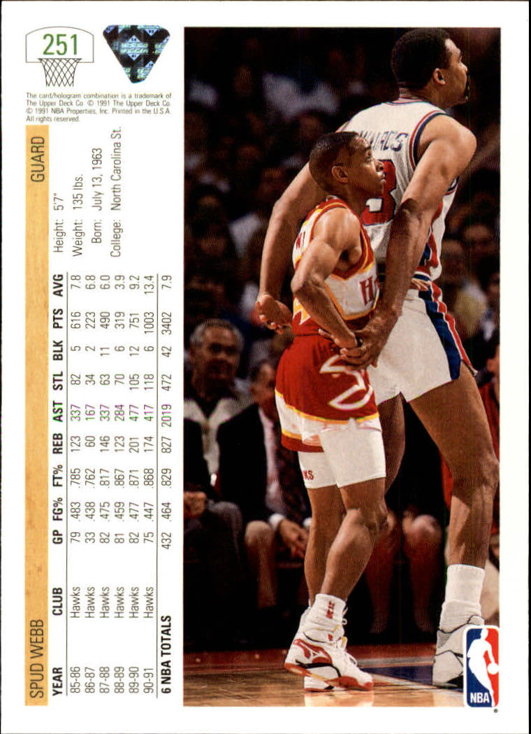 thumbnail 3 - 1991-92 Upper Deck Bk Cards 251-500 +Rookies A2500 - You Pick - 10+ FREE SHIP