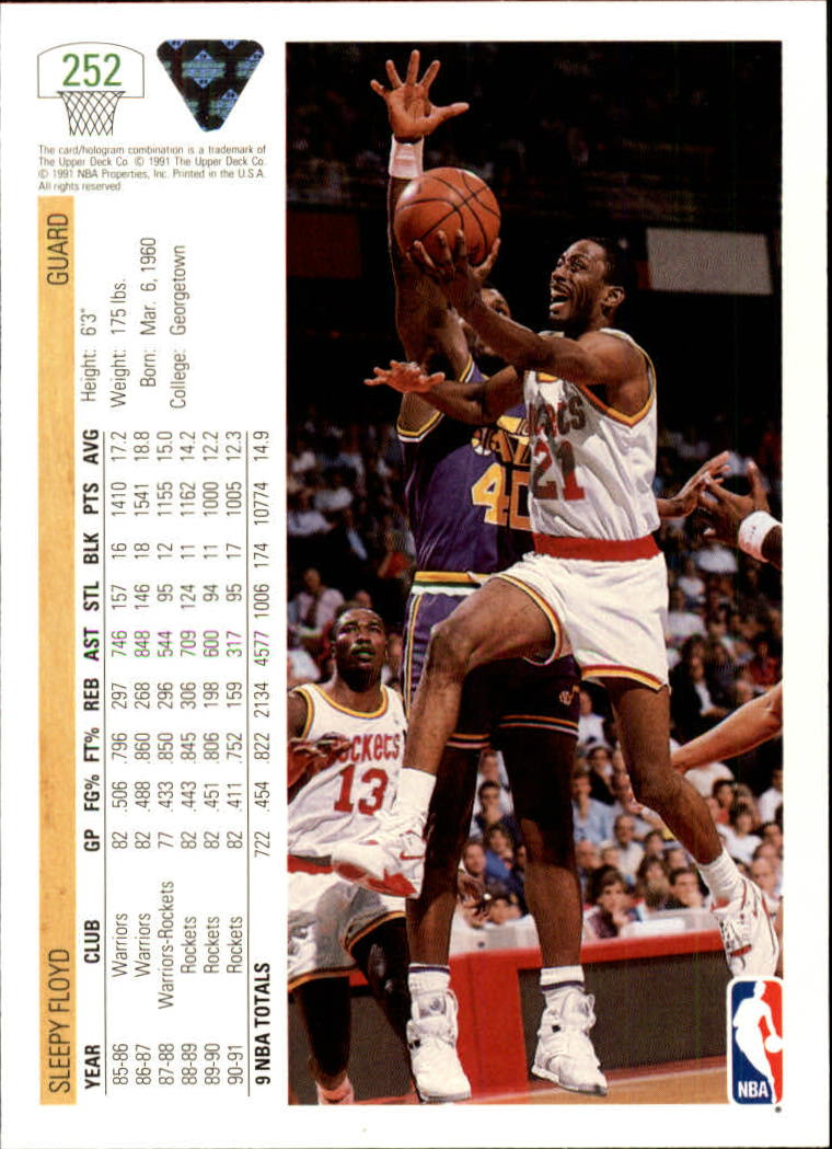 thumbnail 5 - 1991-92 Upper Deck Bk Cards 251-500 +Rookies A2500 - You Pick - 10+ FREE SHIP