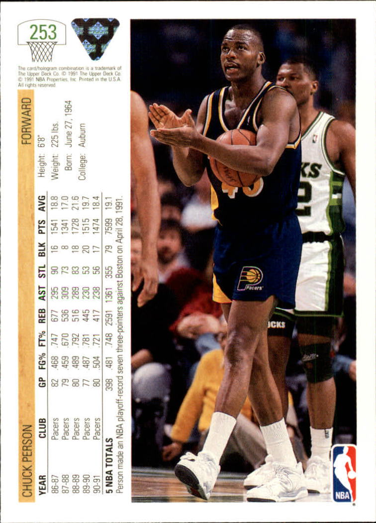 thumbnail 7 - 1991-92 Upper Deck Bk Cards 251-500 +Rookies A2500 - You Pick - 10+ FREE SHIP